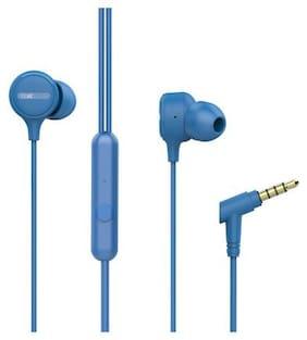 boAt Bassheads 103 In-Ear Wired Headphone ( Blue )