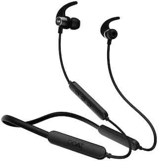 boAt Rockerz 255 Pro + black In-Ear Bluetooth Headset ( Black )