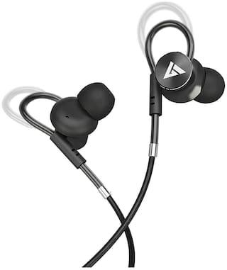 Boult Audio Basshbuds Loop In-Ear Wired Headphone ( Black )