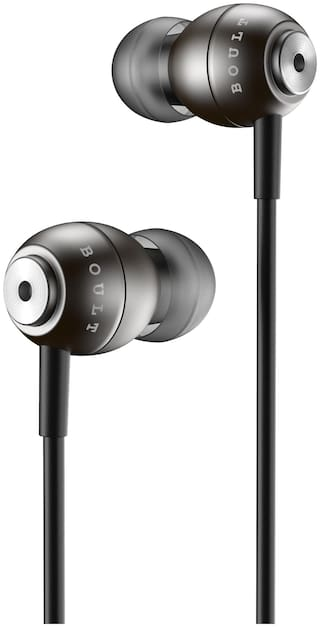 Boult Audio BassBuds StormX In-Ear Wired Headphone ( Grey )