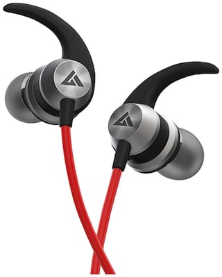 Boult Audio BassBuds X1 X1 In-Ear Wired Headphone ( Red )