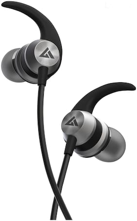 Boult Audio BassBuds X1 In-Ear Wired Headphone ( Grey )