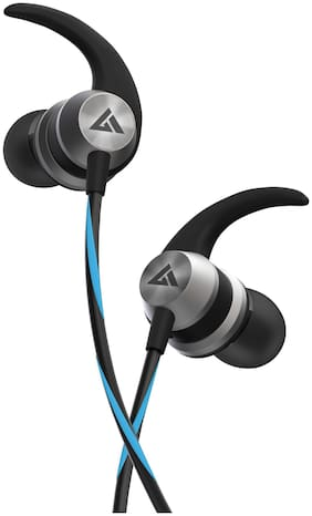 Boult Audio Bassbuds X1 In-Ear Wired Headphone ( Blue )