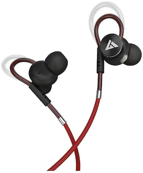 Boult Audio Bassbuds Loop In-Ear Wired Headphone ( Red )