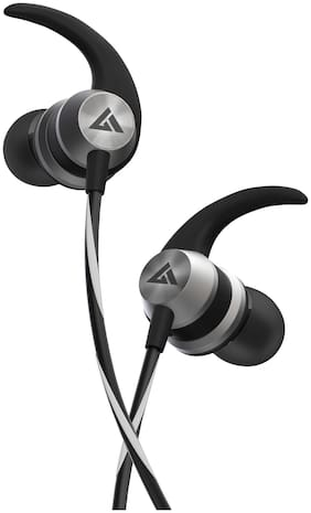 Boult Audio Bassbuds X1 In-Ear Wired Headphone ( Black )