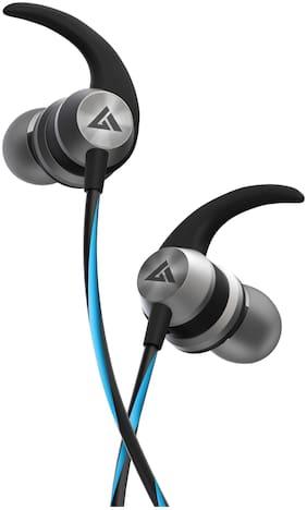 Boult Audio Bassbuds X1 Bassbuds X1 In-Ear Wired Headphone ( Blue )