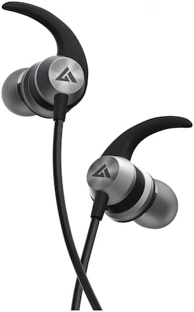 Boult Audio Bassbuds X1 Bassbuds X1 In-Ear Wired Headphone ( Black )
