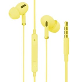 Bovty Pro1c In-Ear Wired Headphone ( Yellow )