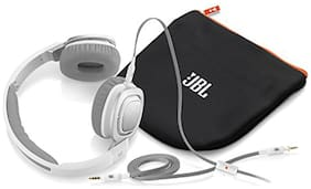 JBL J55a On-ear Wired Headphone ( White )
