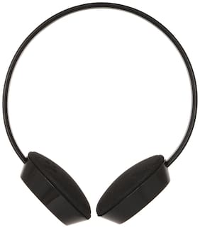 B.R. Gold Br2345 On-ear Wired Headphone ( Black )
