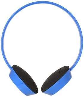 B.R. Gold Brgold245 Over-ear Wired Headphone ( Blue )