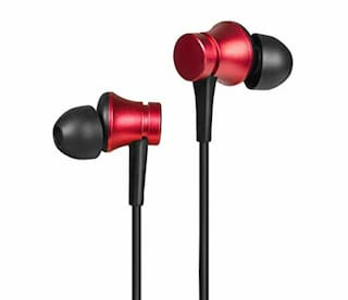 Britney World Redmi In-Ear Wired Headphone ( Red )
