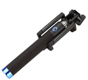 QUXXA Extendable Locust Selfie Stick Handheld Monopod With 3.5MM Aux Cable