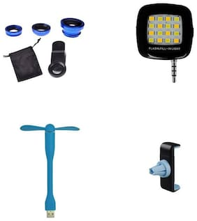BTK Mobile Accessories Combo USB and OTG  Combo Set Multicolor BTKCPCP10169