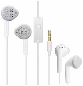 AVYUKTA Samsu. Galaxy S6 active In-Ear Wired Headphone ( White )