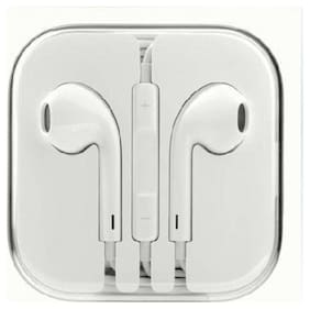AVYUKTA Buddies Cart In Ear Headphone For iPhone SE (White) In-Ear Wired Headphone ( White )