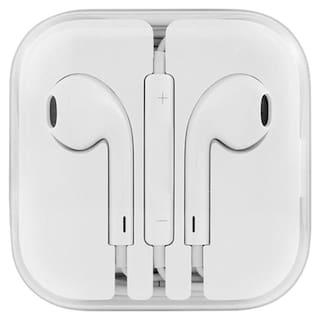 AVYUKTA Top Selling Earpod Headphone Handsfree Earphone Specially Designed For Apple Devices Iphone 5S 5 6 6S & SE 6s,6,5,5s,5c Ipad Devices In-Ear Wired Headphone ( White )