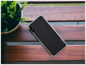 OFFERSONLY Silicone Back Cover For Xiaomi Redmi Note 6 Pro ( Transparent )