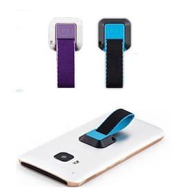 Buy 1 Get 1 Free Universal Ungrip Phone Holder Lanyard UN Grip Straps Finger Ring Stand Holder ( Multi color )