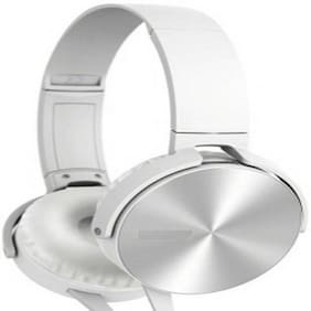 BUY GENUINE On-Ear Wired Headphone ( White )