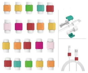 Cable Protector & Saver for Apple iPhone iPad Lightning USB Data Charging Cable 20 Pcs