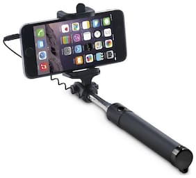 CABLE SELFIE STICK, SUPPORT ANDROID AND IOS