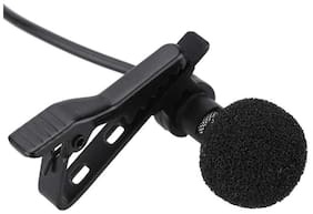 Caller Audio Microphone 3.5mm Jack Plug Mic Stereo Mini Lapel Collar MIC Wired External Clip Micro
