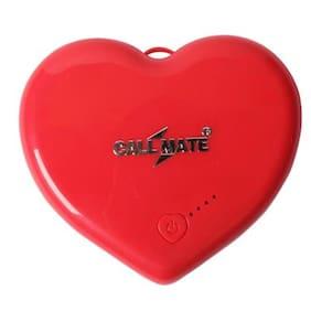 Callmate PBHS5200RD 5200 mAh Power Bank Red