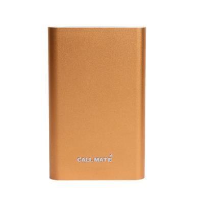Callmate PBTP8000GL 8000 mAh Power Bank Golden