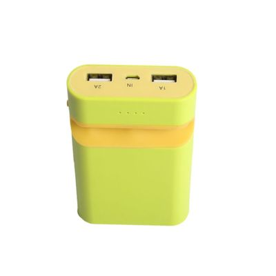 Callmate Zoom Power Bank With Mobile Holder 7800 - Green