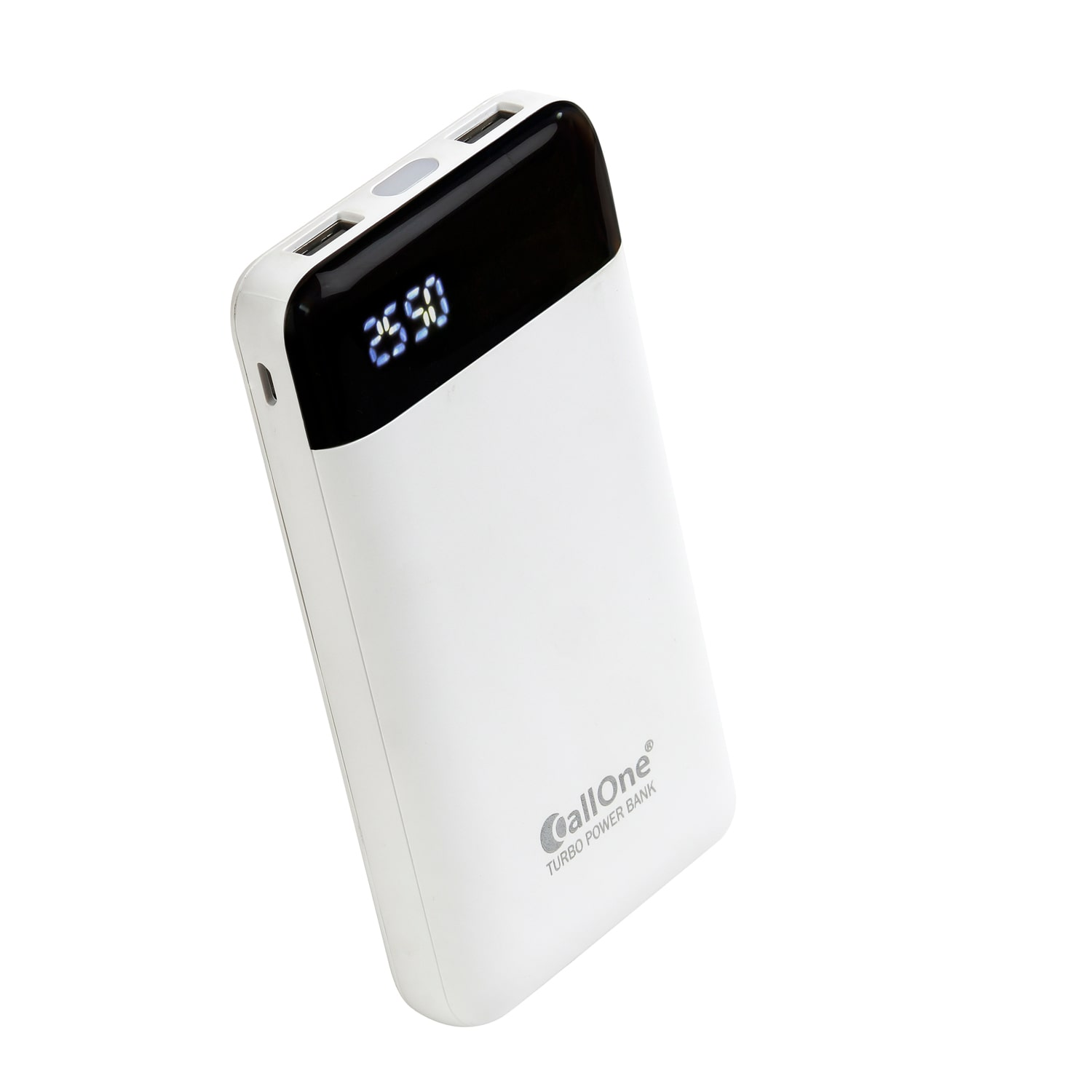 CallOne COPB 125 12000 mAh Portable Power Bank   White
