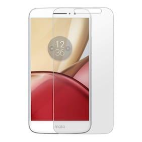 CAPNICKS Tempered Glass & Nano Glass For Motorola Moto M