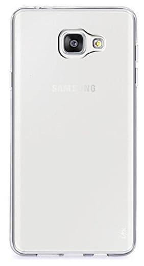 CAPNICKS Silicone Back Cover For Samsung Galaxy J5 Prime ( Transparent )