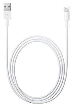 Capnicks USB Fast Charging Cable Compatible with All iPhone Devices White