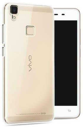 Capnicks  Vivo V3 Max Soft Jel Ultra Thin 0.3mm Transparent Ultra Clear TPU Back Case / Cover for Vivo V3 Max