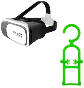Captcha Virtual Reality With Mobile Hanger For All Smartphones