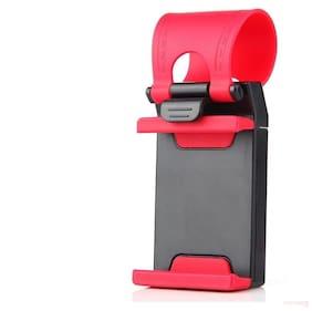 Car Steering Wheel Mobile Phone Socket Holder Stand mobile holder for car for all smartphone By Tech-X