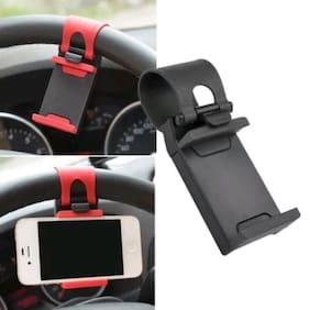 Car Steering Wheel Mobile Holder Stand Universal for Mobile Phone