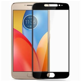 CareFone Motorola Moto E4 Plus Tempered Glass Screen Protector Screen to Screen Fit 9H Hardness Bubble