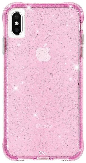 Case-Mate Polycarbonate Back Cover For Apple iPhone XS max ( Pink )