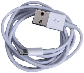 Cell First Data & Charging 8 Pin (Lightning) Cable ( 1 M , White )