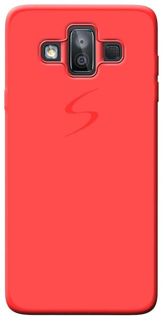 timeless design 620fe 3aaa9 Cellmate Professional Back Cover For Samsung J7 Duo - Red