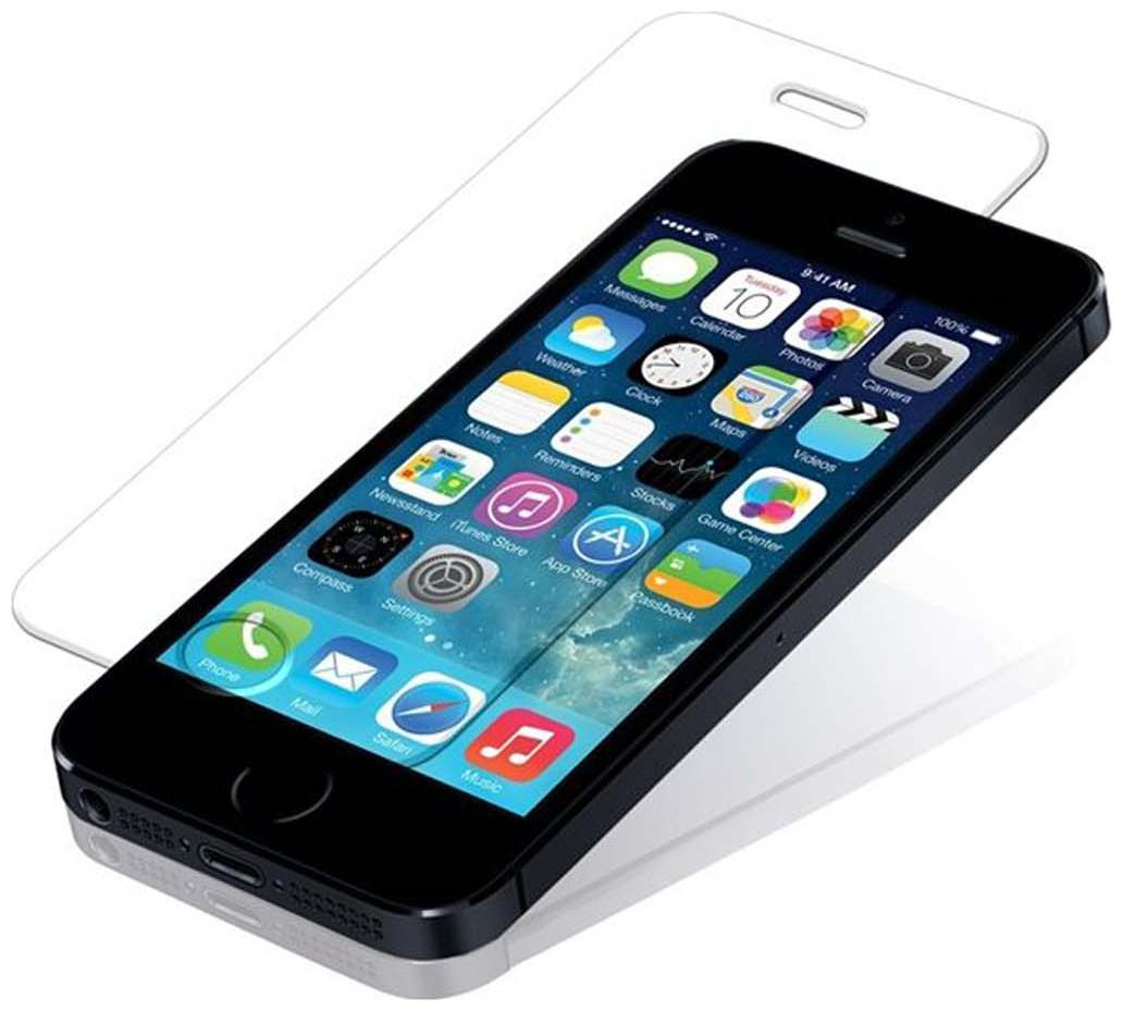 Cellphonez Tempered Screen Guard For Apple iPhone 5S