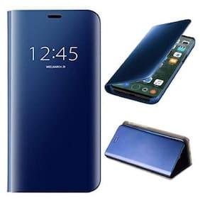 Cellshop Glass Flip Cover For Oppo F11 ( Blue )