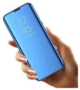 Cellshop Glass Flip Cover For Honor 9N ( Blue )