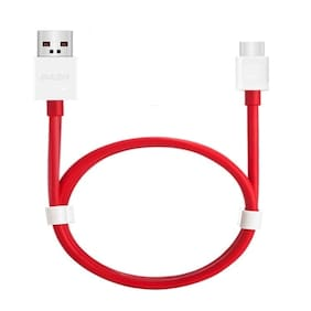S4 Sync & charge cable - 1-1.5m , Red & White