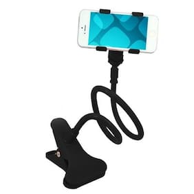 CheckSums (11619) Black Flexible Long Arms Lazy Bed Desktop Car Mobile Phone Holder Stand
