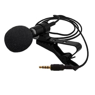 CHG 3.5mm Clip Microphone For Youtube, Collar Mike For Voice Recording, Lapel Mic Mobile, Pc, Laptop, Android Smartphones, Dslr Camera