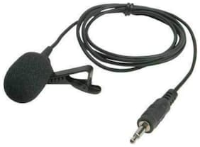 CHG 3.5mm Clip On Mini Lapel Lavalier Microphone (Black)