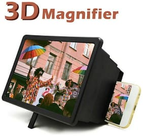 Crystal Digital 3D Mobile Phone Screen Magnifier Eyes Protection with with F2-3D Video
